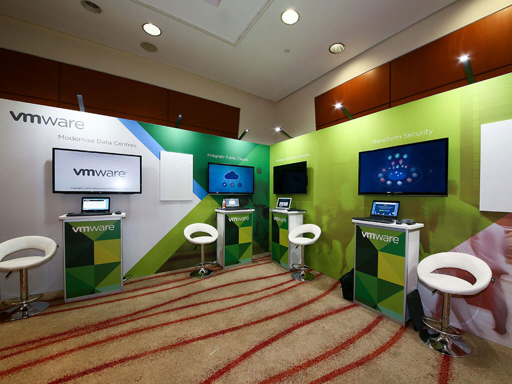 Prescribed stand package solution by Conference Expo